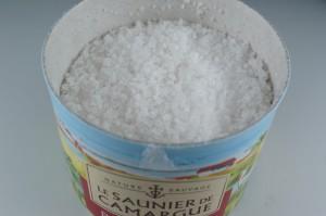 カマルグの塩開封時イメージ1